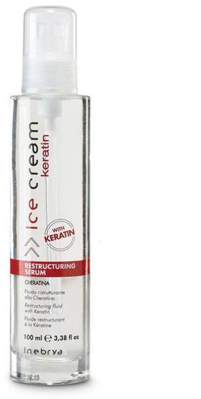 Inebrya Ice Cream Keratin restrukturyzujące serum z keratyną, 100ml