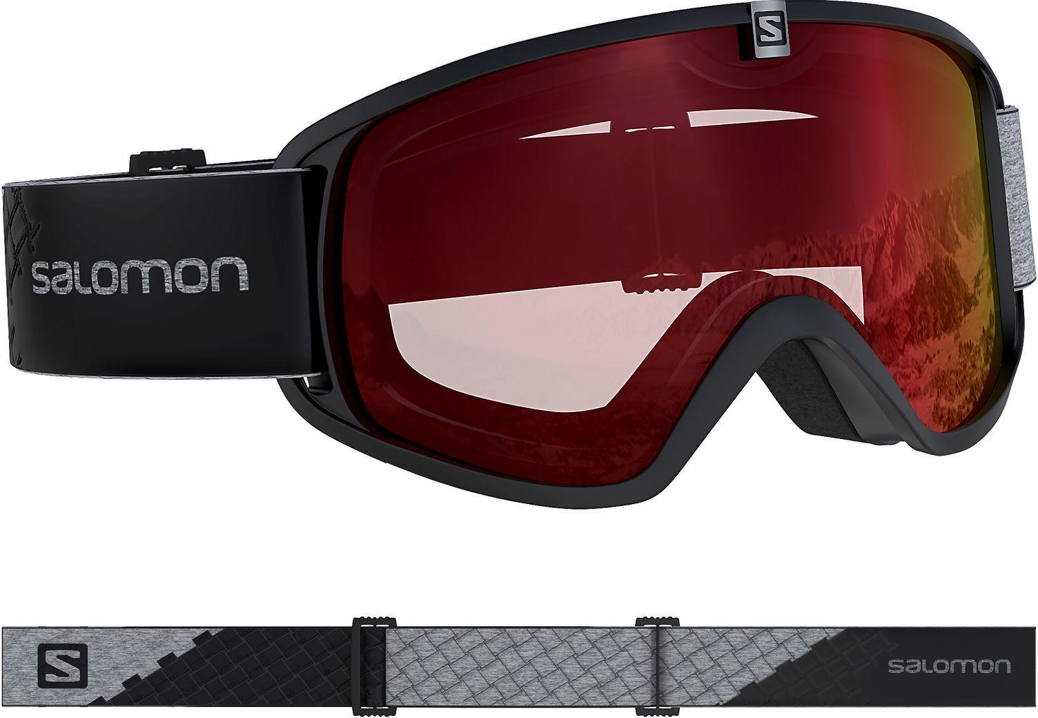 Salomon Gogle narciarskie damskie Force ML S2 409487 409487 white U