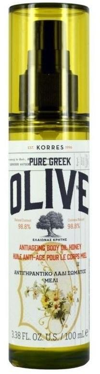 Korres Pure Greek Olive Body Oil Honey 100ml 71919-uniw