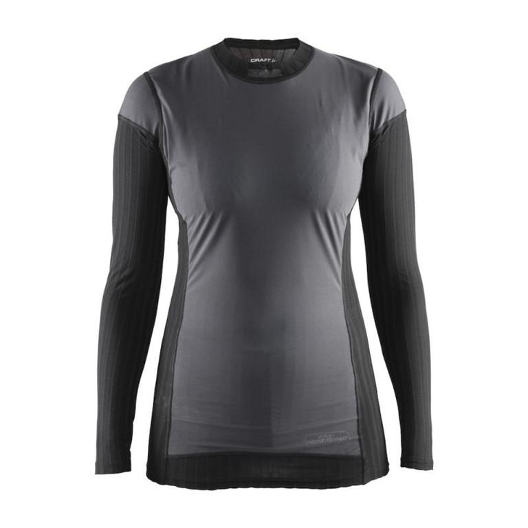 Craft Koszulka z długim rękawem Active Extreme 2.0 WS CN LS czarny-szary / Płeć: damskie / Rozmiar: L 1904500-9999-L