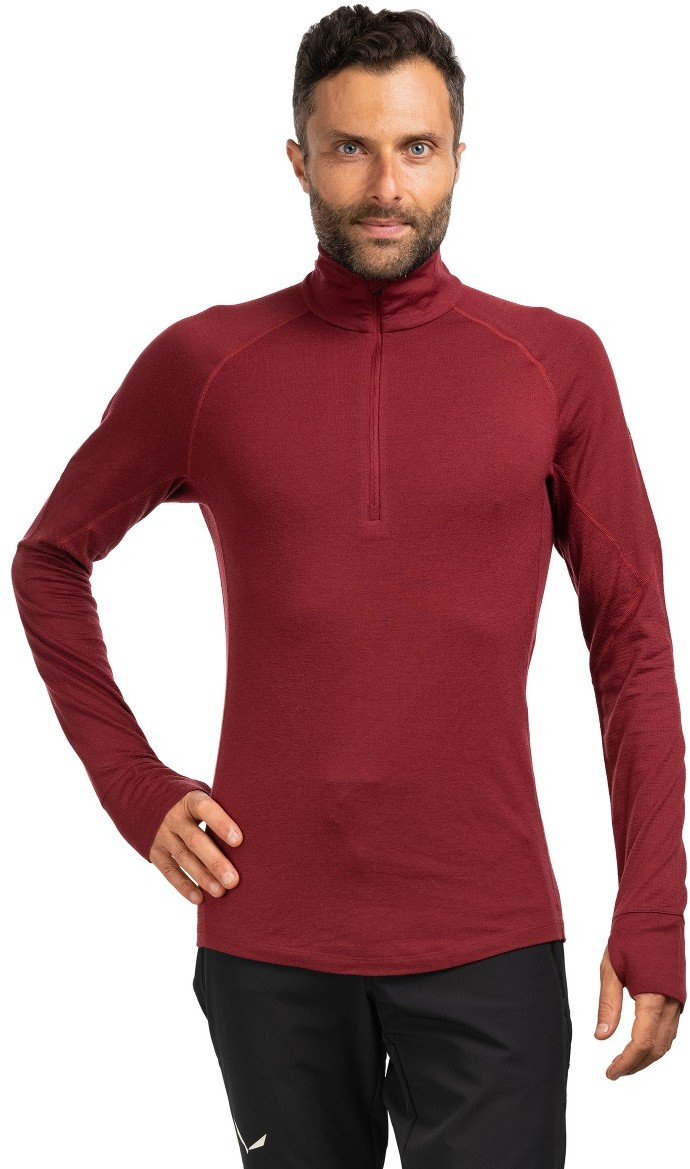 Icebreaker KOSZULKA 260 WINTER ZONE LS HALF ZIP