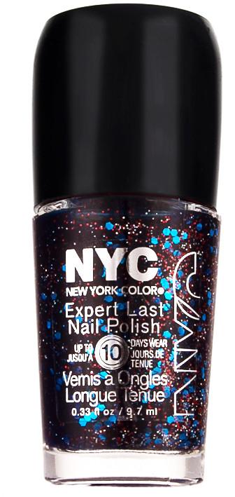 NYC Expert Last Nail Polish Lakier Do Paznokci 032 Party Time Blue