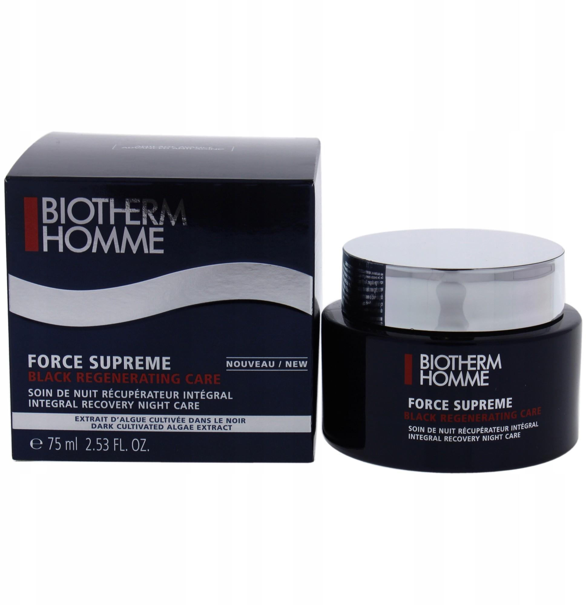 Biotherm Homme Force Supreme Black Care krem 75ml