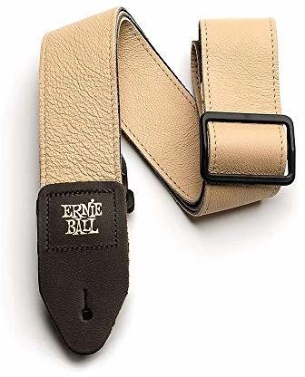 Ernie Ball 5 cm Tri-Glide włoski skórzany pasek - brązowy P04136