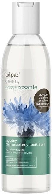 Tołpa TORF CORPORA green oczyszczanie łagodny płyn micelarny-tonik 2 w 1 200 ml