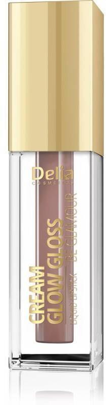 Delia Cosmetics Cream Glow Gloss Pomadka w płynie nr 202 Royal Rose 5ml