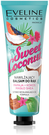Eveline Balsam do rąk nawilżający Sweet Coconut 50ml SO_107515