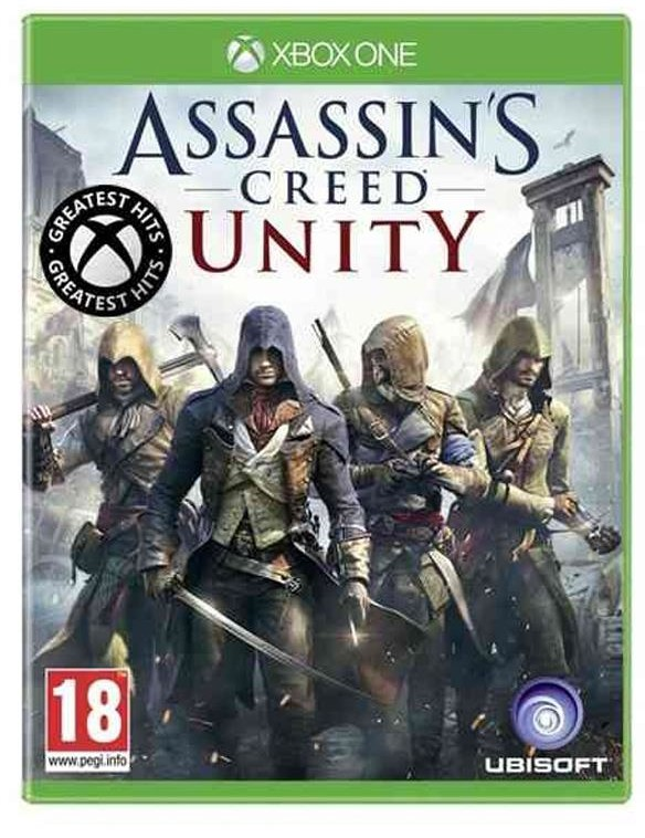 Assassins Creed Unity (GRA XBOX ONE)