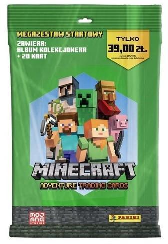 Panini Minecraft Megazestaw startowy