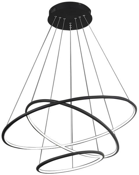 Milagro Zwis lampa ORION okręgi LED 155W ML3704