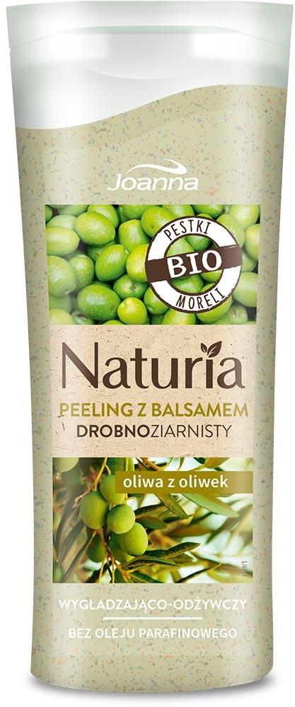 Joanna Naturia Peeling do ciała drobnoziarnisty Oliwa z Oliwek 100g mini