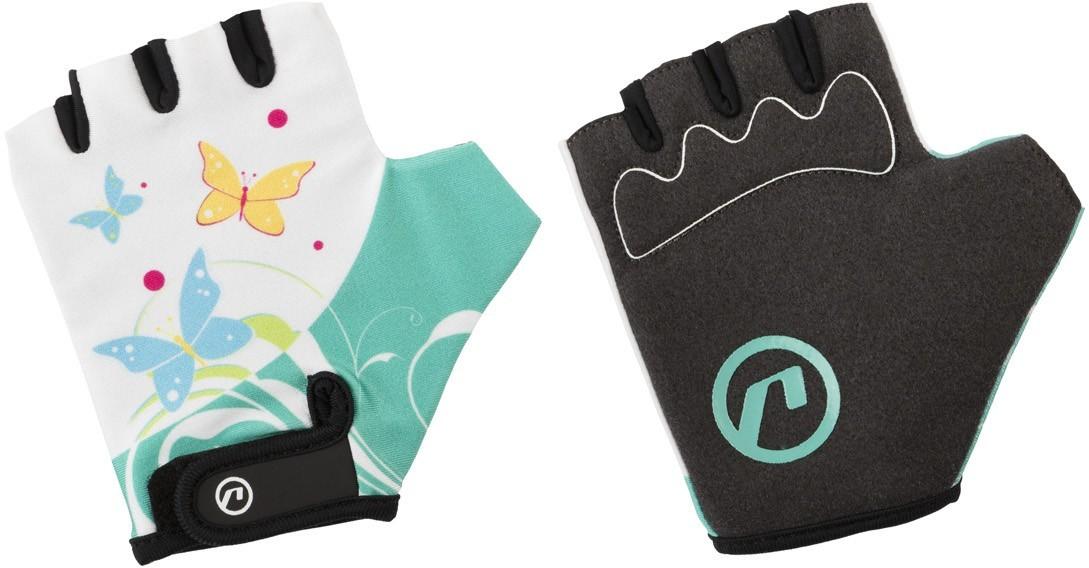 Accent Rękawiczki DAISY biało-zielone L/XL