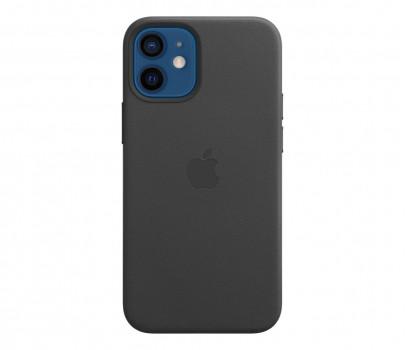 Apple Skórzane etui iPhone 12 mini czarne