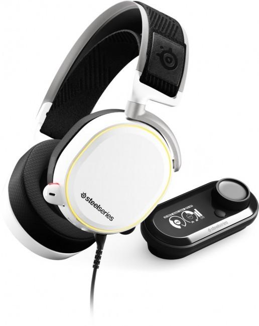 SteelSeries Arctis Pro + GameDAC białe