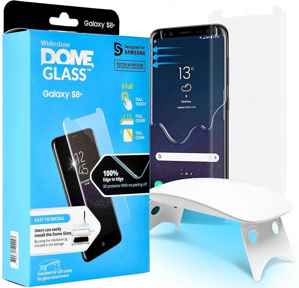 Whitestone Szkło WhiteStone DOME Glass 3D Galaxy S8 Plus 8809365402243