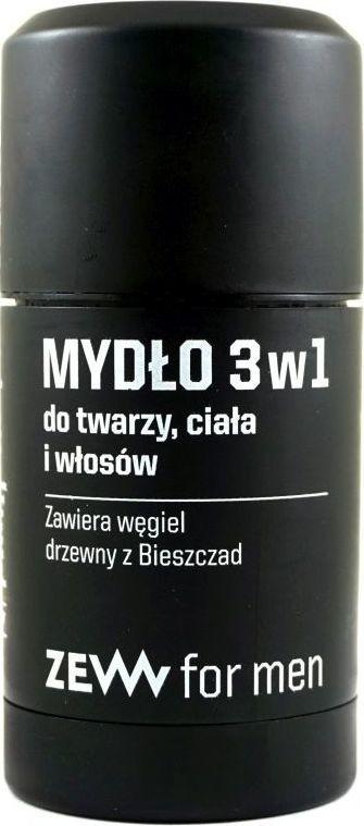 Zew for Men Zew for Men Mydło 3w1 z Węglem Drzewnym ZEW ZEW0005