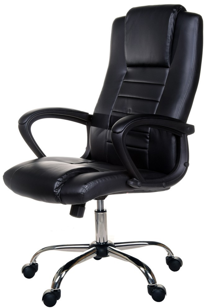 Giosedio Fotel biurowy GIOSEDIO czarny, model FBS004 FBS004