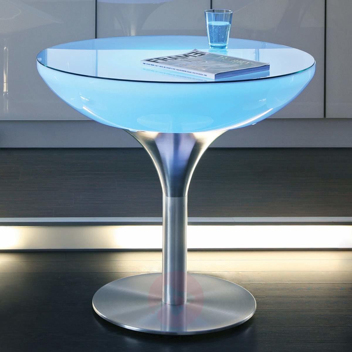 Moree Akumulatorowy stół LOUNGE, wysokość 75 cm, LED
