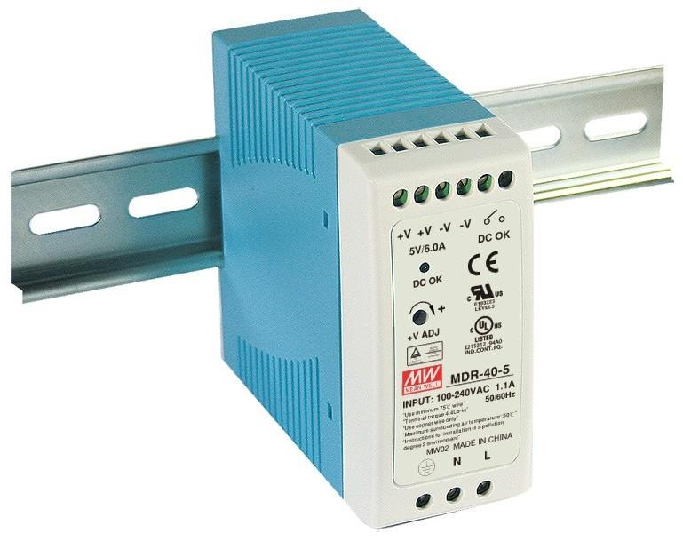Mean Well Zasilacz LED MDR 40W 12V/DC MDR-40-12