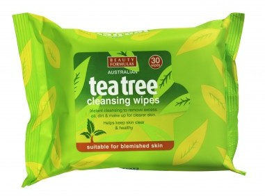 BEAUTY FORMULAS Beauty  Formulas Tea Tree Chusteczki oczyszczające od twarzy  1op.-30szt SO_63378