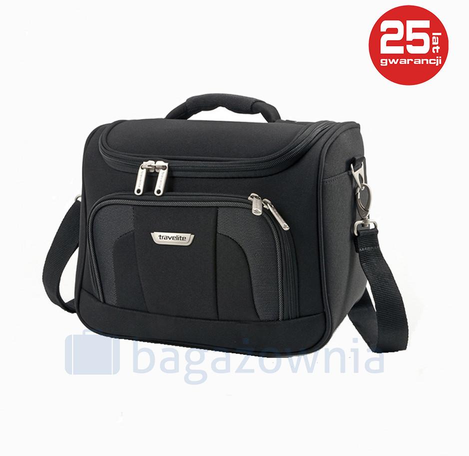 Travelite Kufer miękki ORLANDO 98492-01 Czarny - czarny