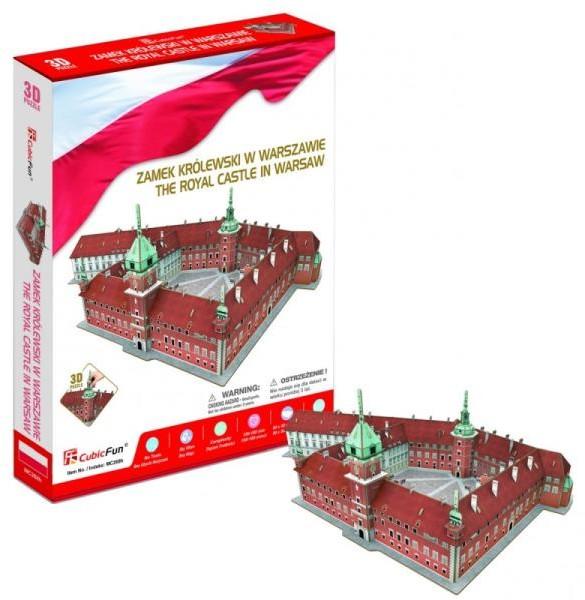 Cubicfun Puzzle 3D Zamek Krolewski w Warszawie