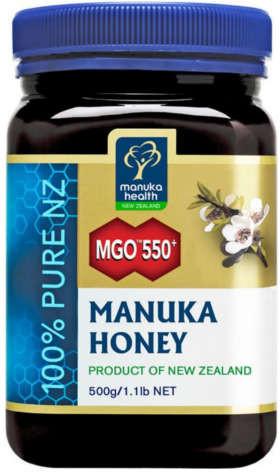 Manuka Health Limited Miód Manuka MGO 550+ Nektarowy 500g MM550500