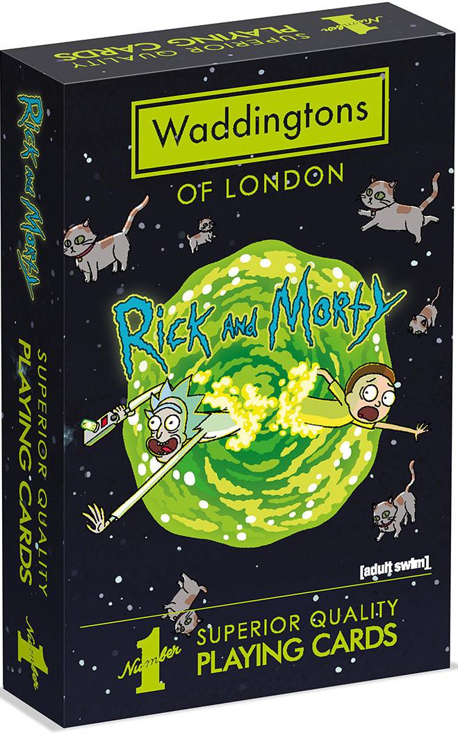 WINNING Moves Rick and Morty. Karty Waddingtons