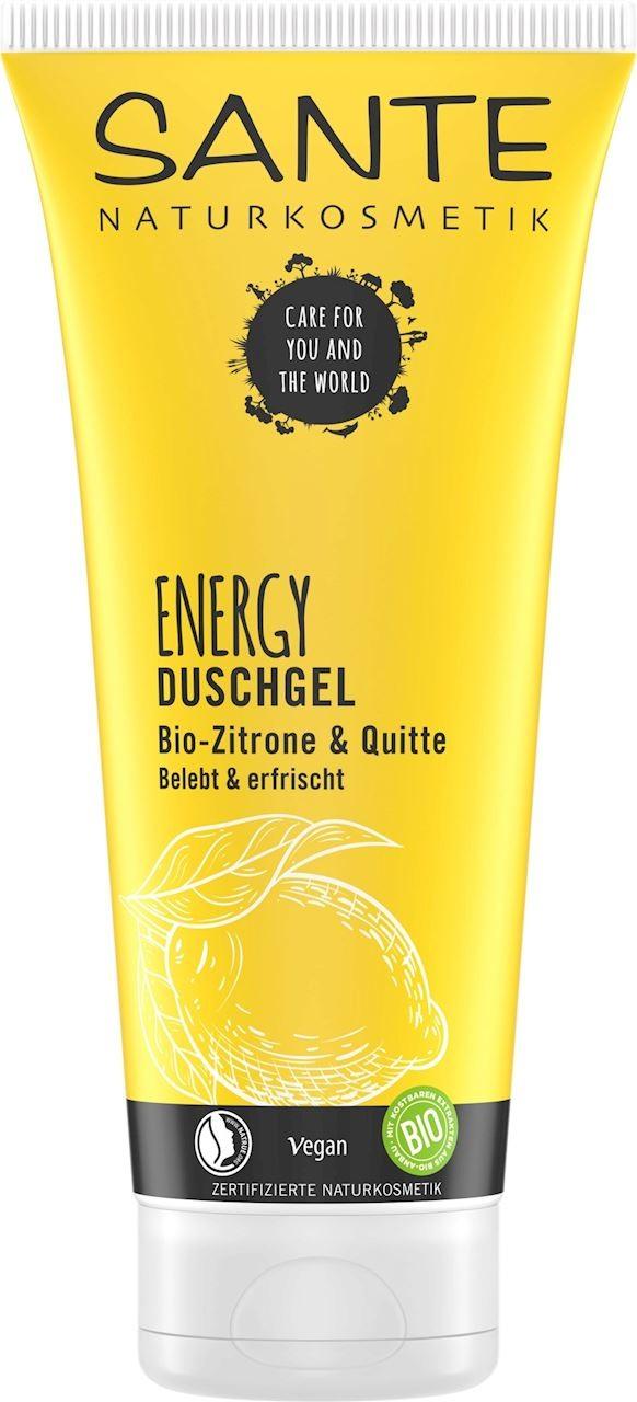 Sante (kosmetyki) ŻEL POD PRYSZNIC ENERGY CYTRYNA I PIGWA ECO 200 ml -
