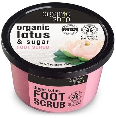 Organic Shop Peeling do stóp Cukrowy Lotos 250ml 35616-uniw
