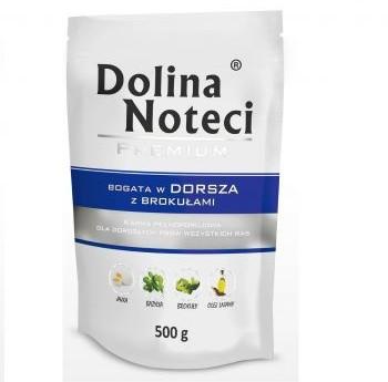 Dolina Noteci Premium Dorsz z Brokułami 0,5 kg