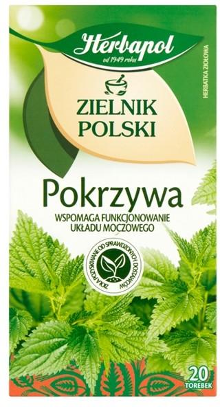 ZIELNIK POLSKI Herbapol Zielnik Polski Herbatka ziołowa pokrzywa 30 g (20 x 1,5 g)