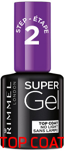Rimmel lakier do paznokci Super Gel 12ml Top Coat