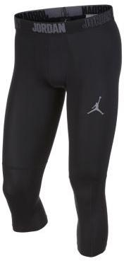 Nike Męskie legginsy treningowe o długości 3/4 Jordan Dri-FIT 23 Alpha - Czerń 892246-010