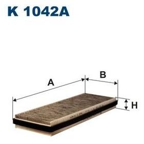 FILTRON Filtr kabinowy K1042A