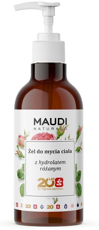 Maudi MAUDI Żel do mycia ciała z hydrolatem różanym 500ml