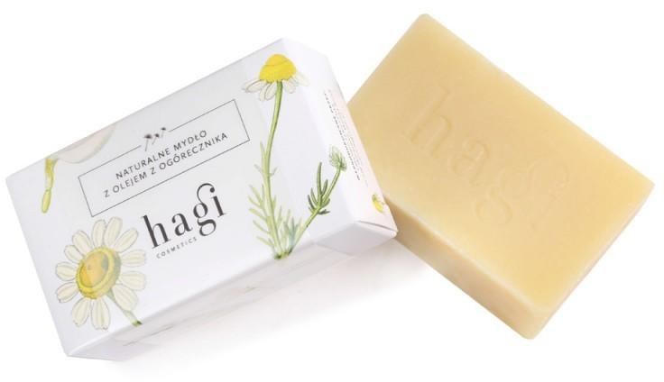 Hagi Cosmetics Hagi - Naturalne mydło z ogórecznikiem 5906874158128