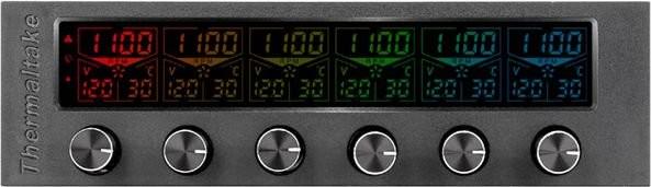 Opinie o Thermaltake Commander F6 RGB - kontroler obrotów - AC-024-BN1NAN-A1