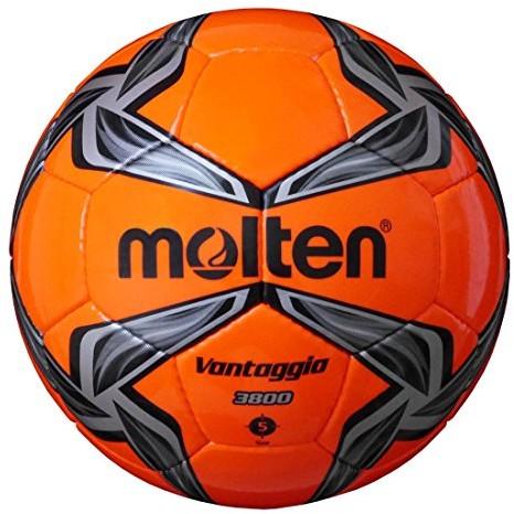 Molten Uni f5 V3800-OK piłka nożna, pomarańczowy, szary, 5 F5V3800-OK