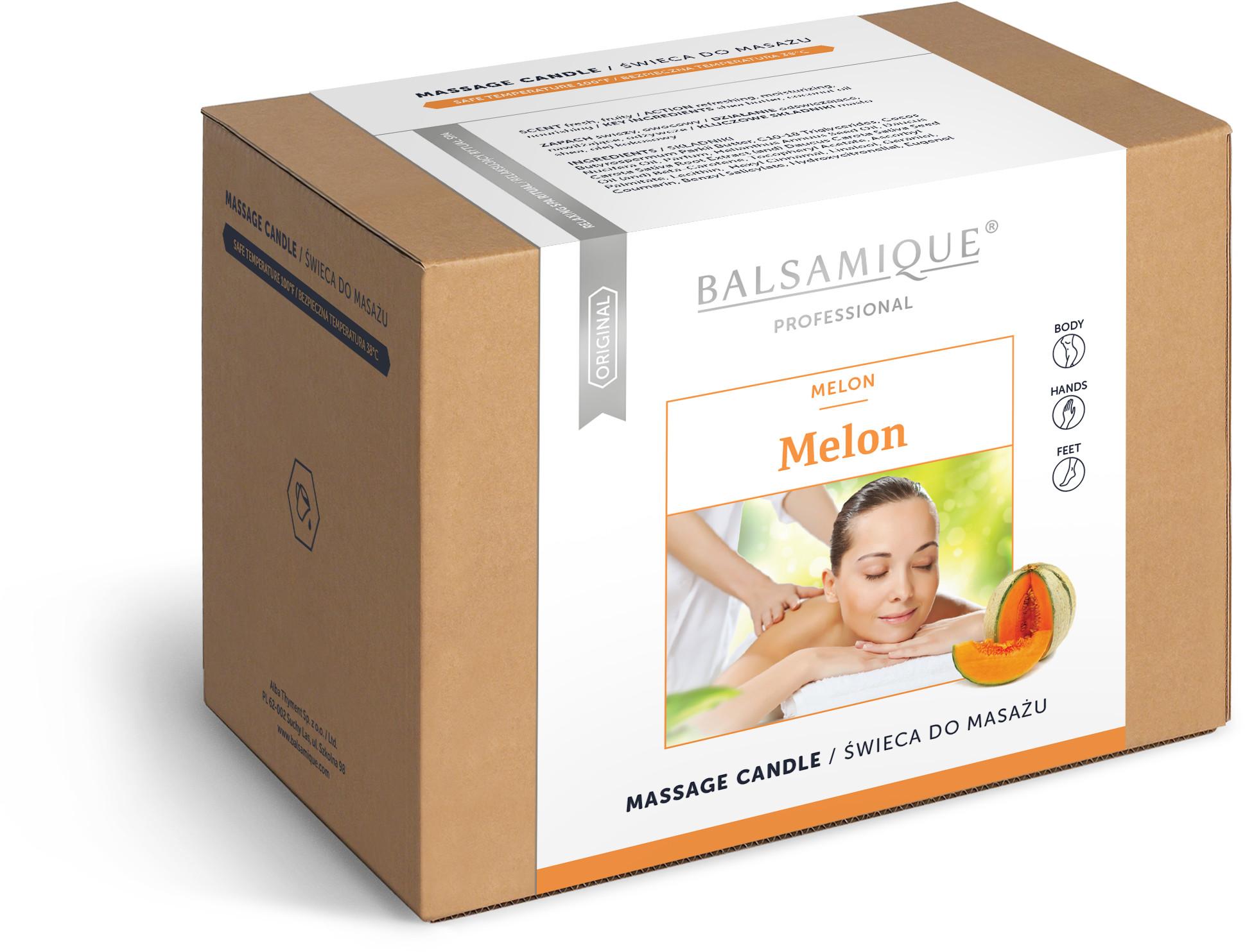 Alba Thyment Świeca do masażu ciała - Melon