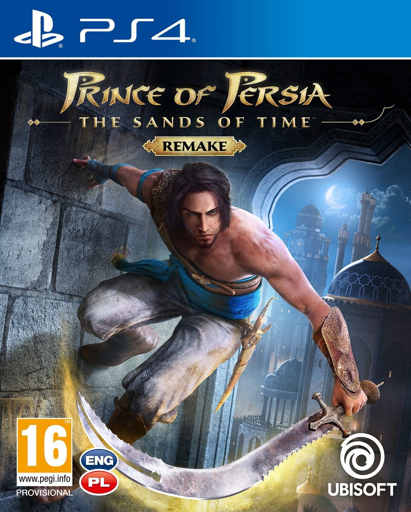 Prince Of Persia The Sand Of The Time (GRA PS4)