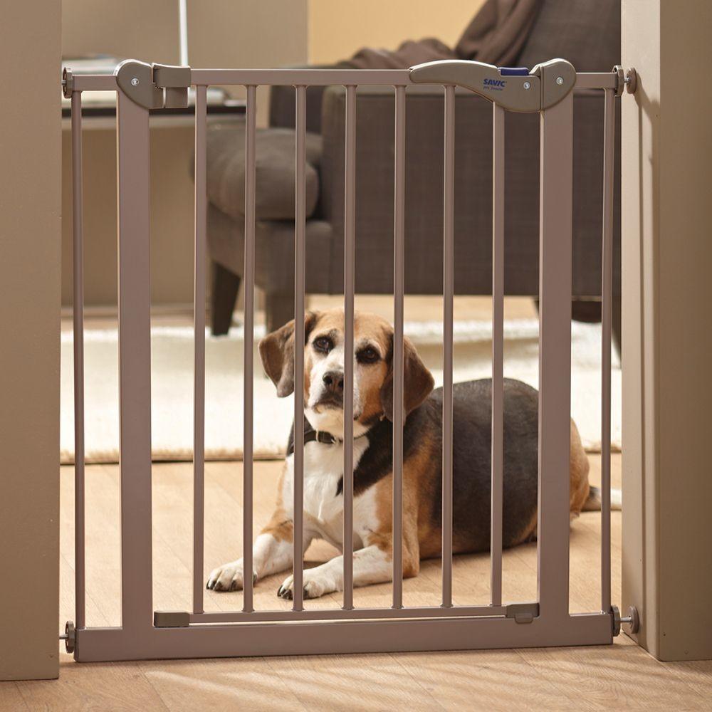 Savic Bramka Ograniczająca Dog Barrier 2, wys. 107 cm - Przedłużenie 7 cm (do bramki o wys. 107 cm)