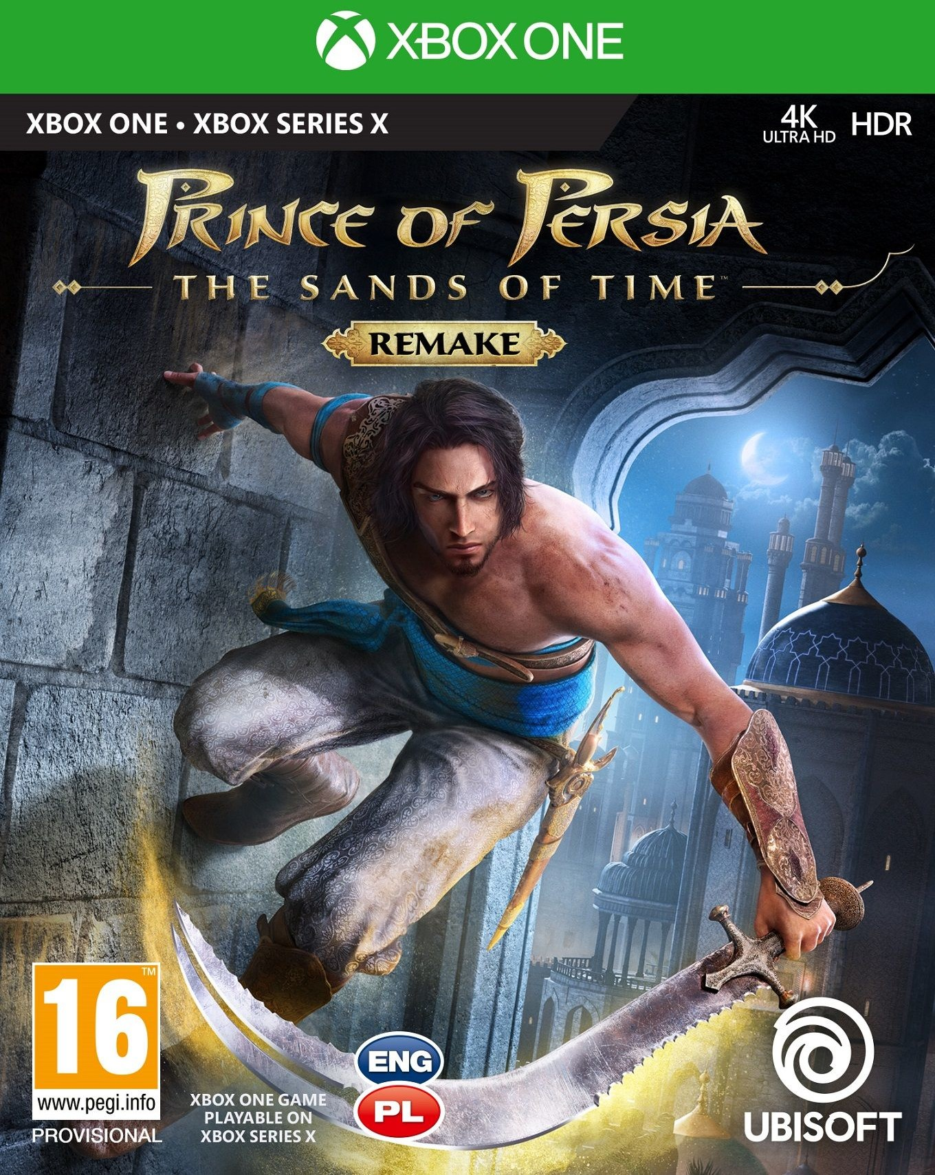 Prince Of Persia The Sand Of The Time (GRA XBOX ONE)
