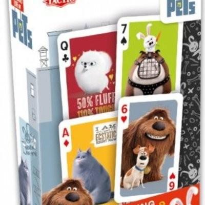Tactic Sekretne Życie Zwierzaków karty do gry