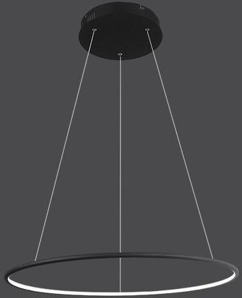 Altavola Design nowoczesna lampa Ledowe Okręgi No. 1 100cm czarna in 4k LA073/P_100_in_4k_black