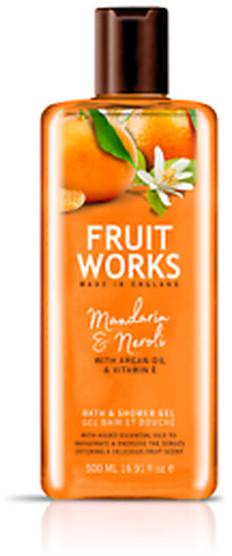 Grace Cole Fruit Works Żel pod prysznic Mandarine & Neroli 500ml