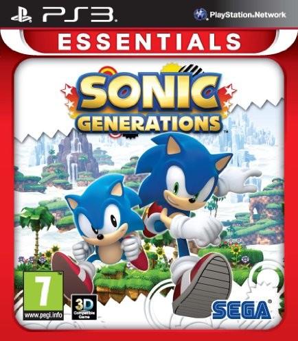 Sony Sonic Generations: Essentials (PS3) [import UK] 200623