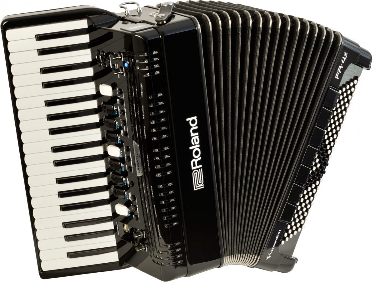 Roland FR-4X akordeon cyfrowy klawiszowy czarny