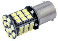 Żarówka samochodowa LED P21W BA15s 12V 48xSMD Canbus biała Y4-4300