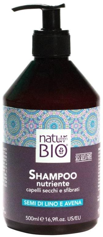 Renee BLANCHE BLANCHE NATUR GREEN BIO - Szampon odżywczy do włosów zniszczonych 500 ml